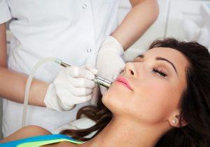 laser facial treatment