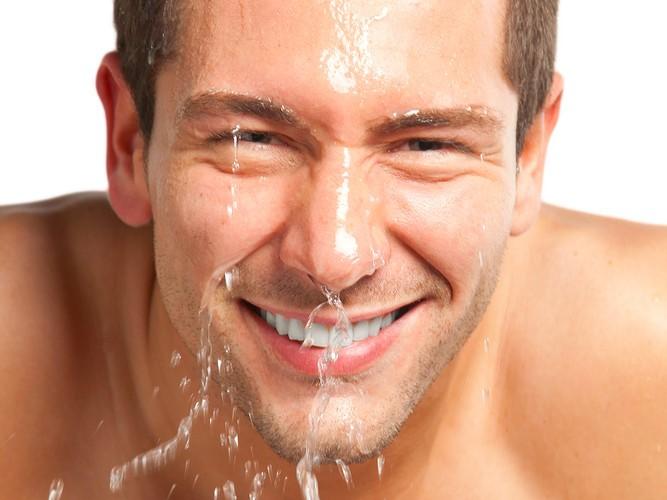 dehydrated skin test